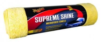 Meguiars Supreme Shine Microfiber Towels 3er Pack