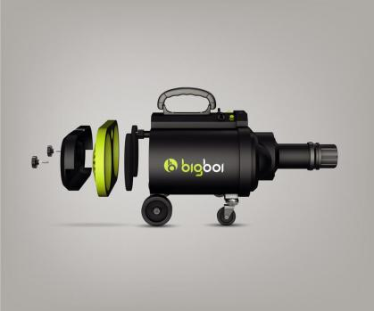 Preview: Bigboi BlowR Pro Car Dryer Lacktrockner