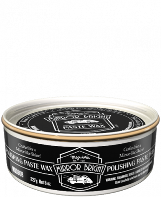 Meguiars Mirror Bright Polishing Paste Wax 227g
