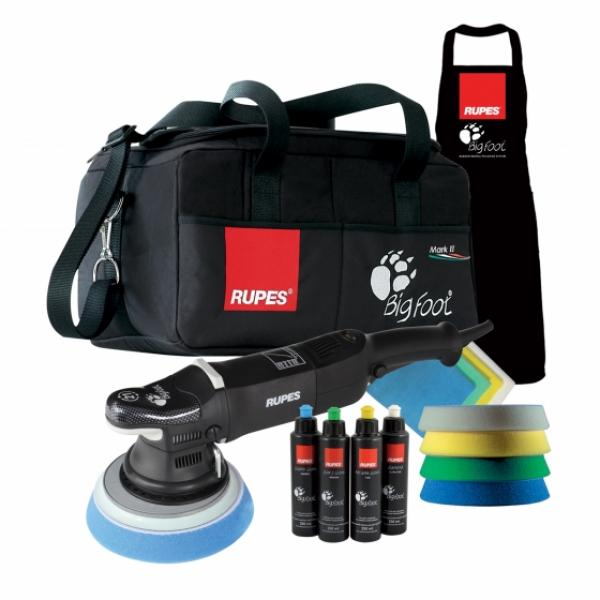 RUPES BigFoot Exzenter-Poliermaschine LHR21 Mark II Deluxe Kit