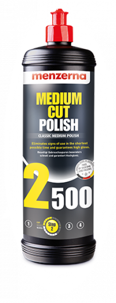 Menzerna Medium Cut Polish 2500 250ml
