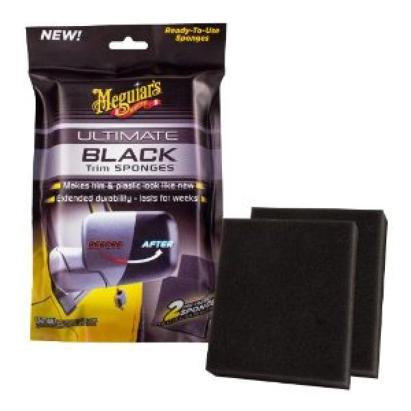 Meguiars Ultimate Black Trim Sponges