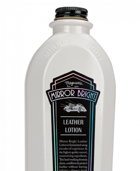 Meguiars Mirror Bright Leather Lotion 414ml