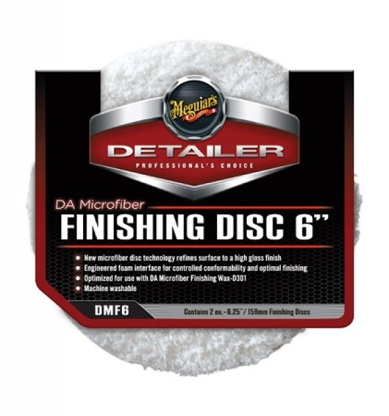 Meguiars DA Microfiber Finishing Disc 160mm
