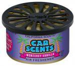 California Scents Car Scents Monterey Vanilla